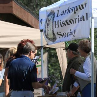 historical society booth