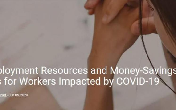 Employment Resources and Money-Savings Tips