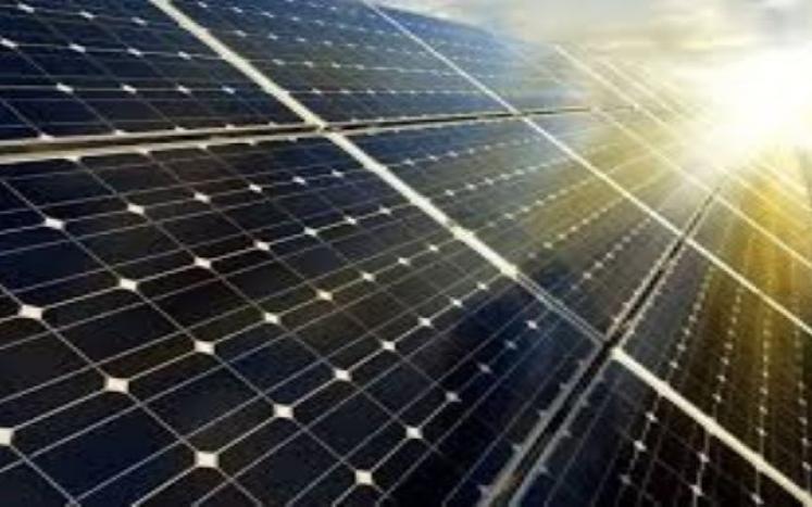 Town Hall Solar Panels Energy Production